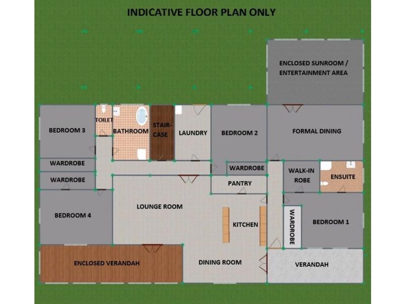 132 Pelham Street, Tenterfield NSW 2372 Floorplan