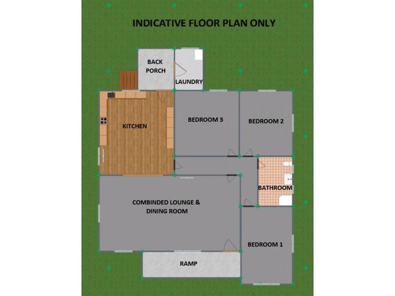 76 Bulwer Street, Tenterfield NSW 2372 Floorplan