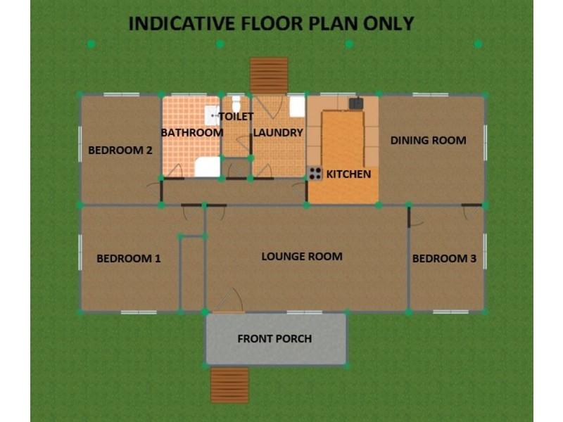 47 Clive Street, Tenterfield NSW 2372 Floorplan