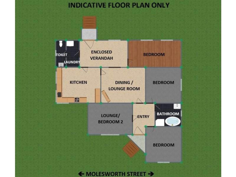 9 Molesworth Street, Tenterfield NSW 2372 Floorplan