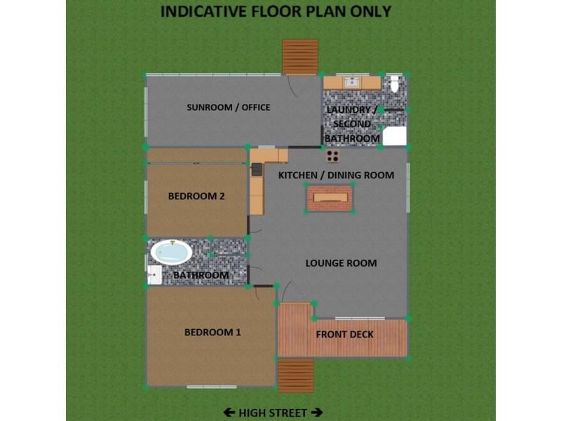 25 High Street, Tenterfield NSW 2372 Floorplan