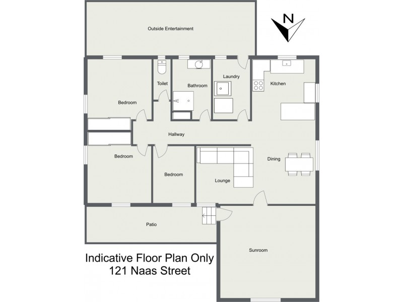 121 Naas Street, Tenterfield NSW 2372 Floorplan
