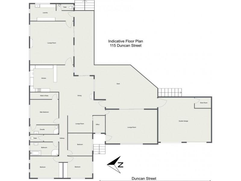 115 Duncan Street, Tenterfield NSW 2372 Floorplan