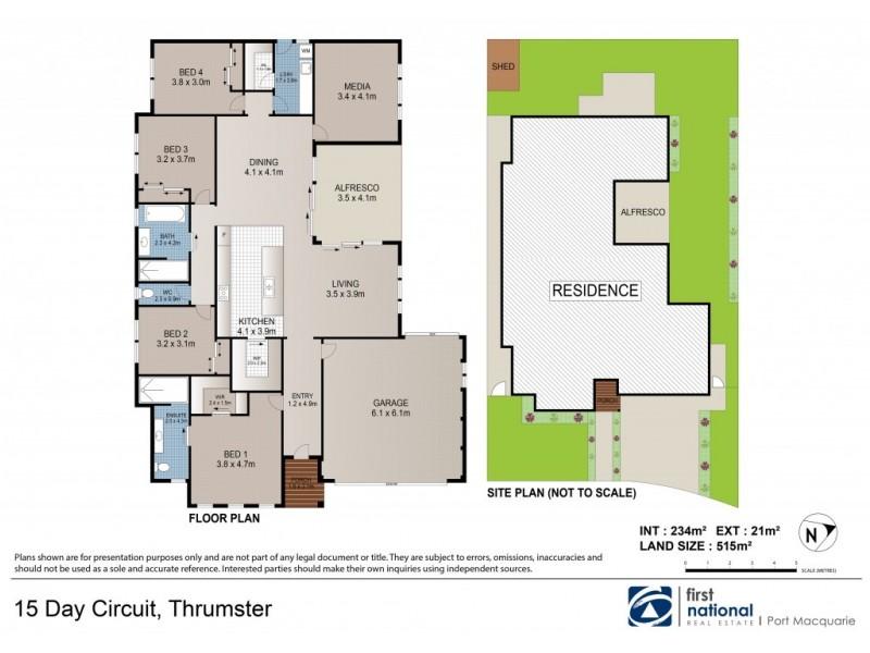 15 Day Circuit, Port Macquarie NSW 2444 Floorplan