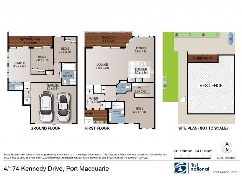 4/174 Kennedy Drive, Port Macquarie NSW 2444 Floorplan
