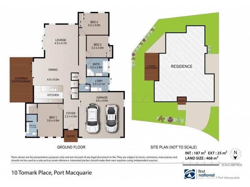 10 Tomark Place, Port Macquarie NSW 2444 Floorplan