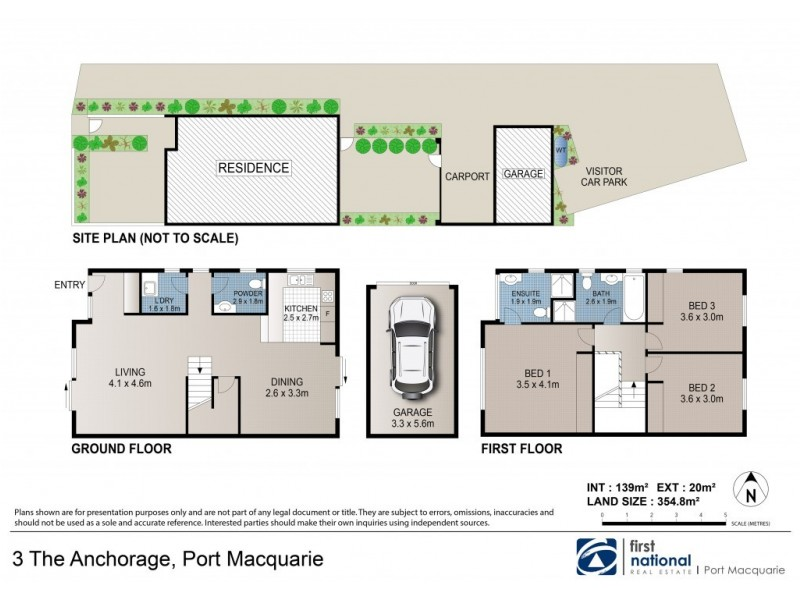 3 The Anchorage, Port Macquarie NSW 2444 Floorplan