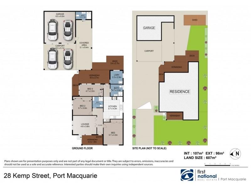 28 Kemp Street, Port Macquarie NSW 2444 Floorplan
