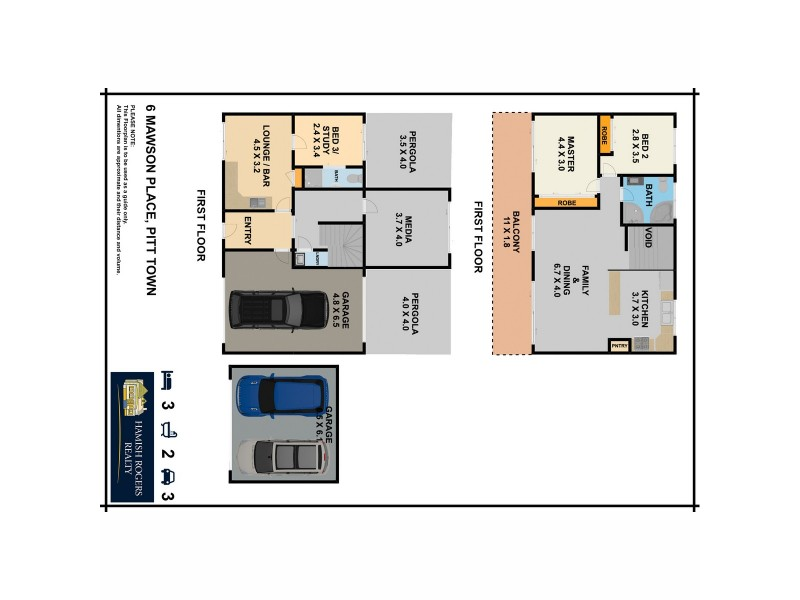 6 Mawson Place, Pitt Town NSW 2756 Floorplan