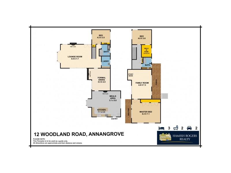 """Yarrandoo Park"" Woodland Road, Annangrove NSW 2156 Floorplan"