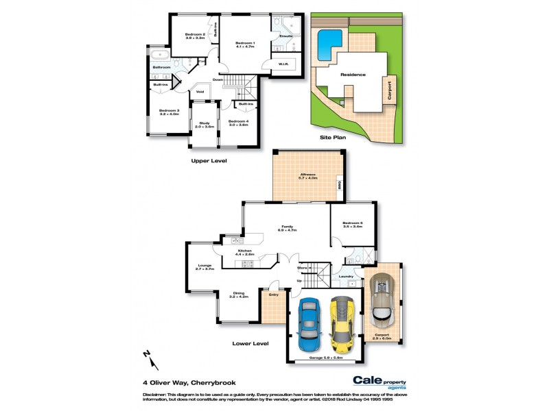 4 Oliver Way, Cherrybrook NSW 2126 Floorplan