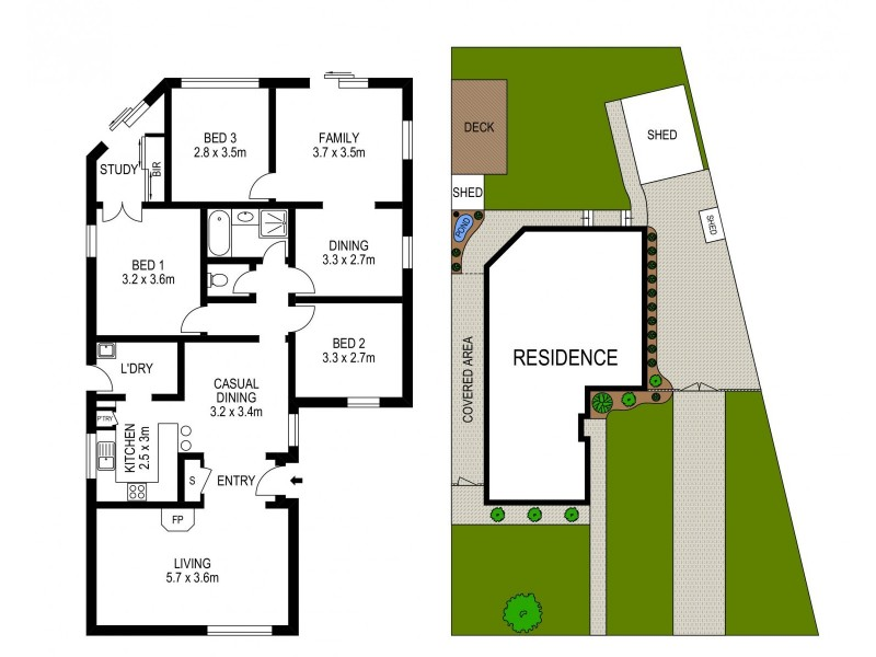 27 Mellfell Road, Cranebrook NSW 2749 Floorplan