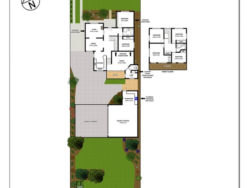 1 Knox Street, Pendle Hill NSW 2145 Floorplan