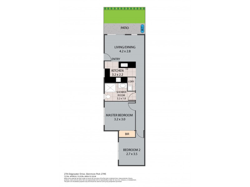27A Edgewater Drive, Glenmore Park NSW 2745 Floorplan