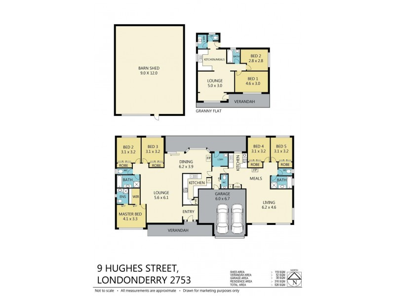 9 Hughes Street, Londonderry NSW 2753 Floorplan