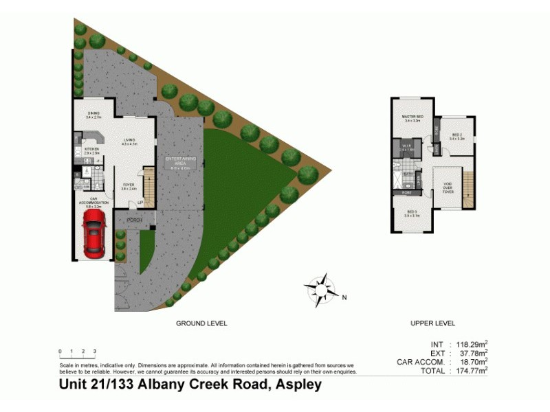 21/133 Albany Creek Rd, Aspley QLD 4034 Floorplan