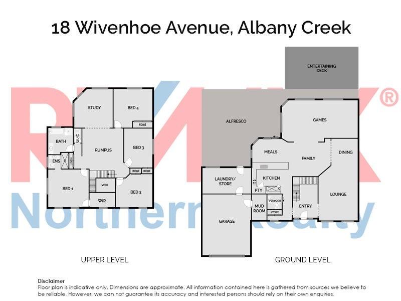 18 Wivenhoe Avenue, Albany Creek QLD 4035 Floorplan