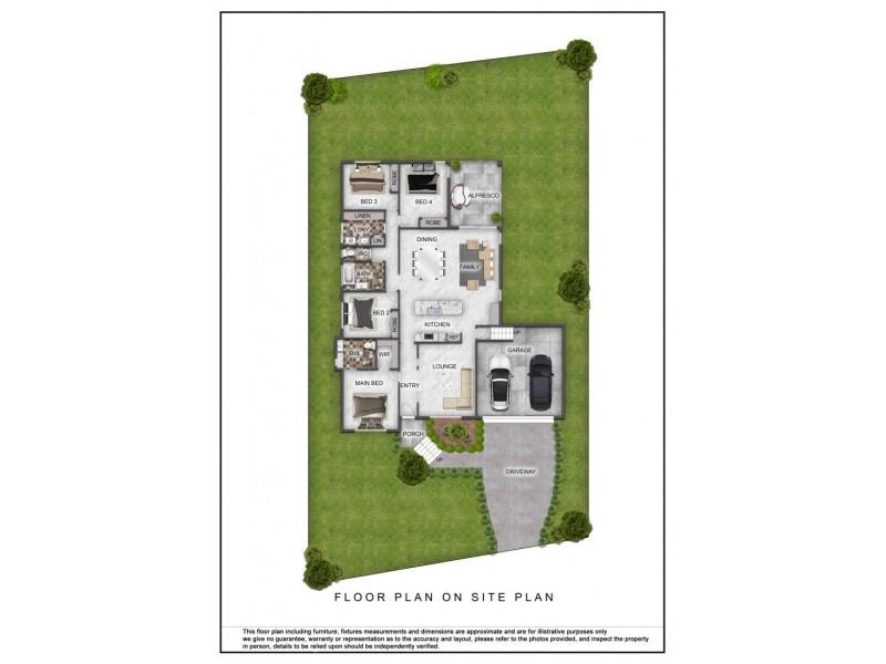 35 Mada Drive, Upper Coomera QLD 4209 Floorplan