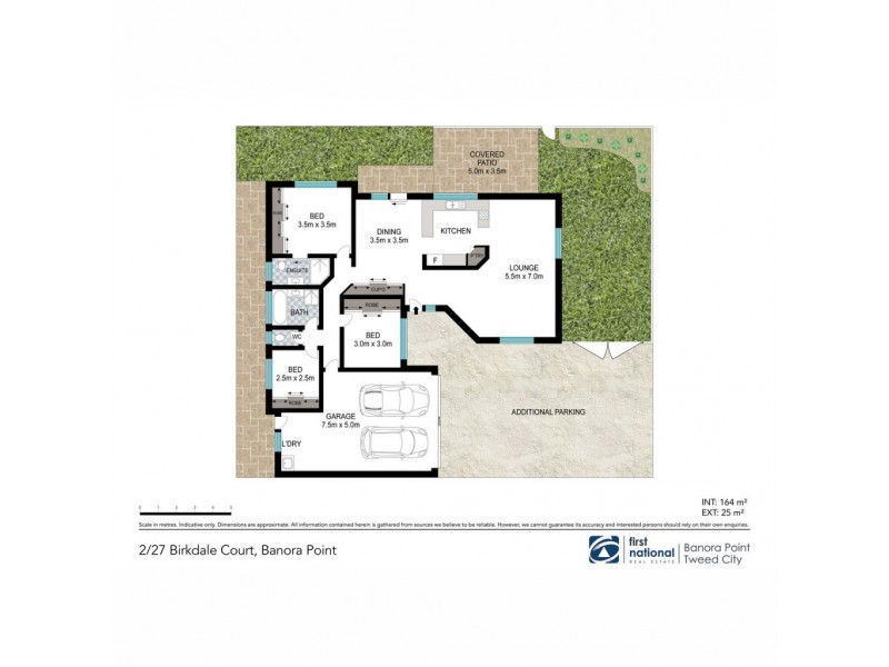 2/27 Birkdale Court, Banora Point NSW 2486 Floorplan