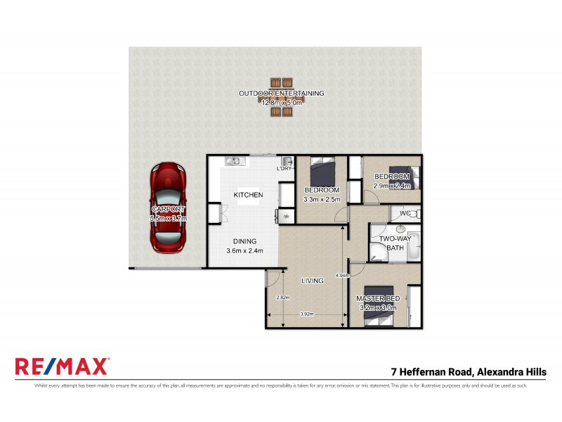 7 Heffernan Road, Alexandra Hills QLD 4161 Floorplan
