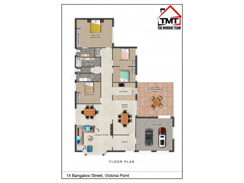 14 Bangalow Street, Victoria Point QLD 4165 Floorplan