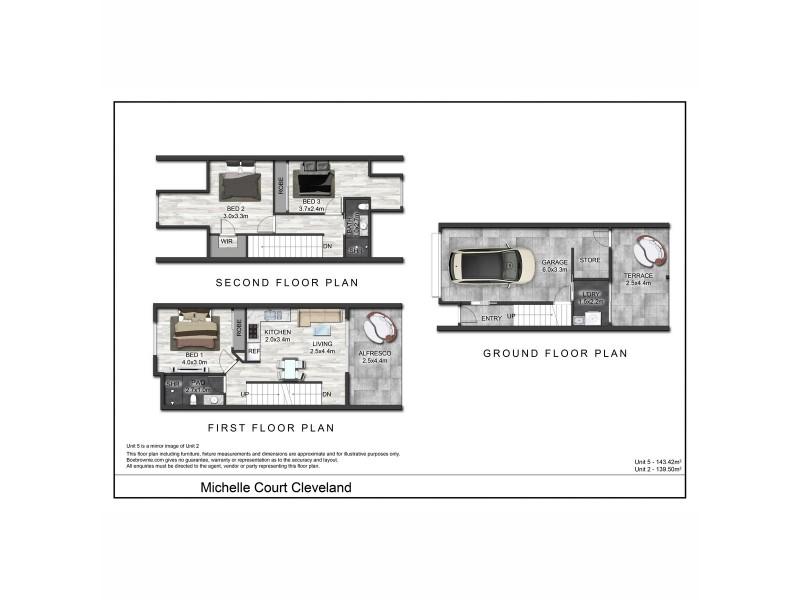 2/2 Michelle Court, Cleveland QLD 4163 Floorplan