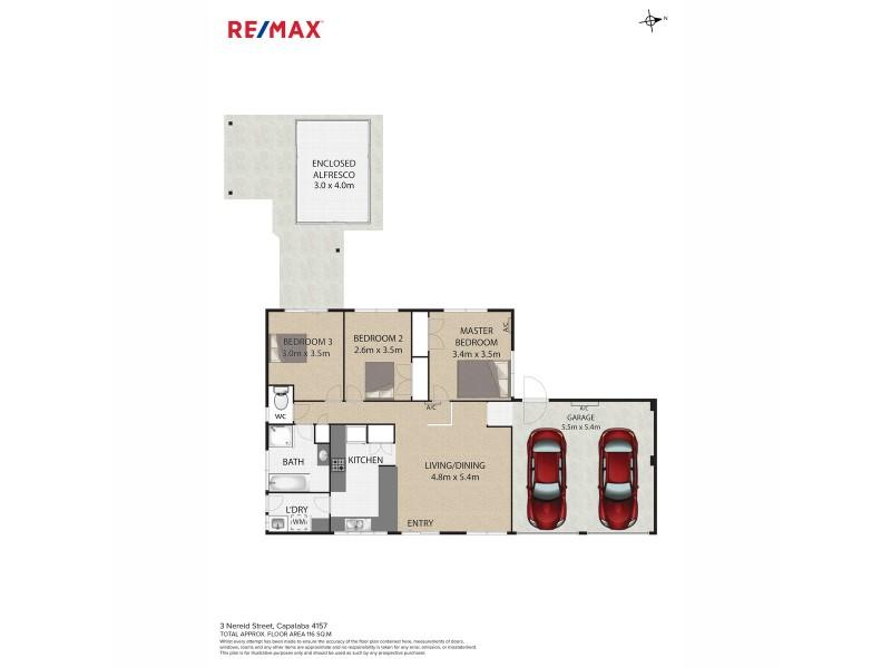 3 Nereid Street, Capalaba QLD 4157 Floorplan