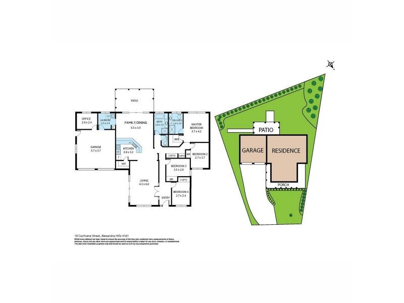 19 Cochrane Street, Alexandra Hills QLD 4161 Floorplan