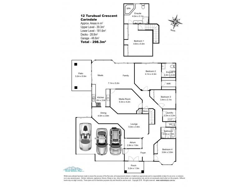 12 Turubul Crescent, Carindale QLD 4152 Floorplan