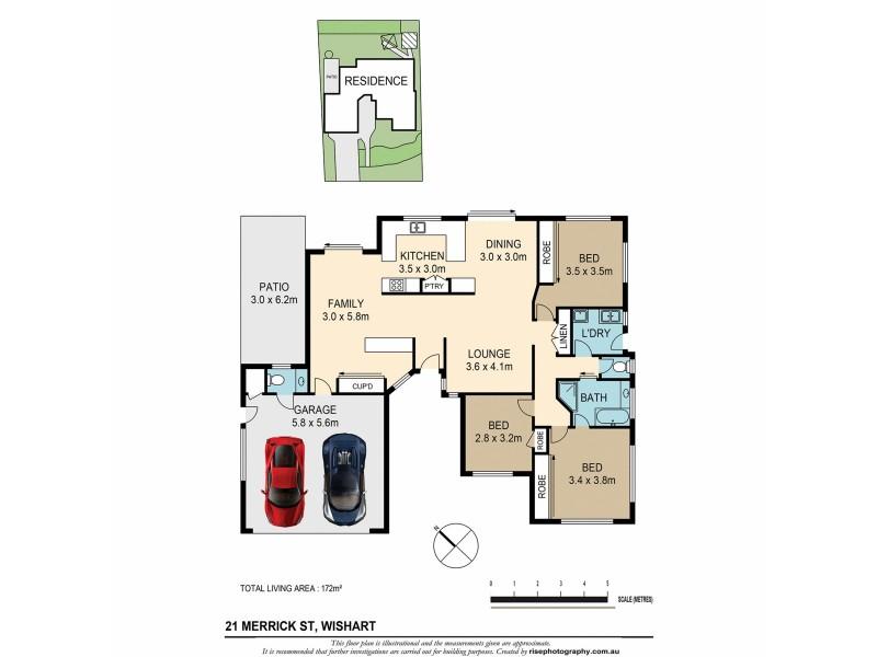 21 Merrick Street, Wishart QLD 4122 Floorplan