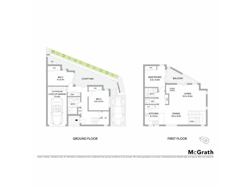 8/1 Margaret Street, Tweed Heads NSW 2485 Floorplan