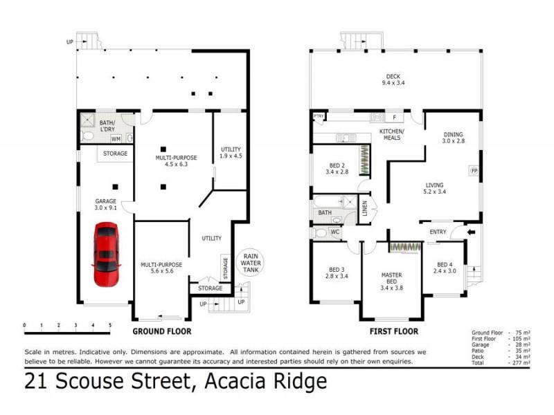 21 Scouse Street, Acacia Ridge QLD 4110 Floorplan