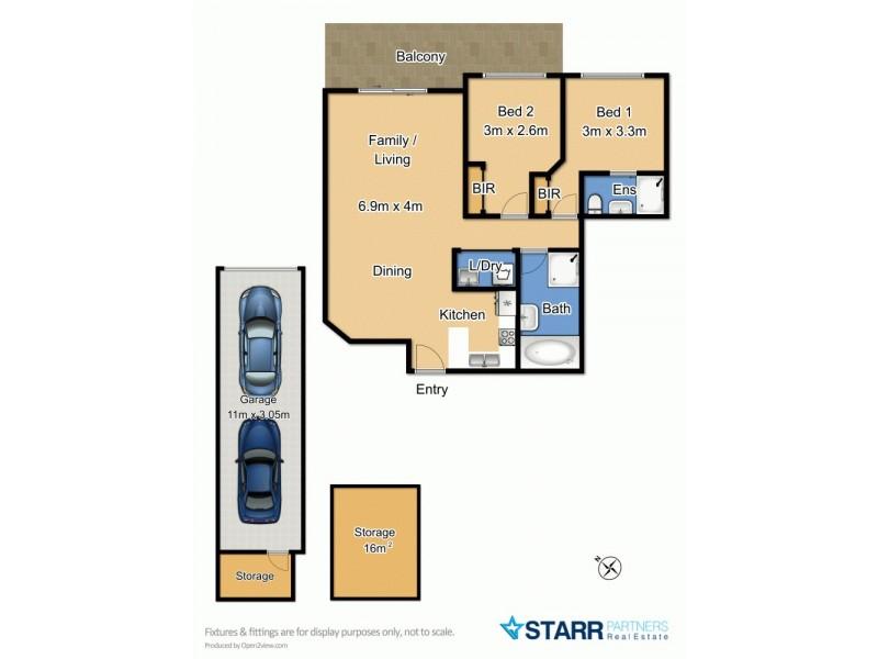 38/8-14 Oxford Street, Blacktown NSW 2148 Floorplan