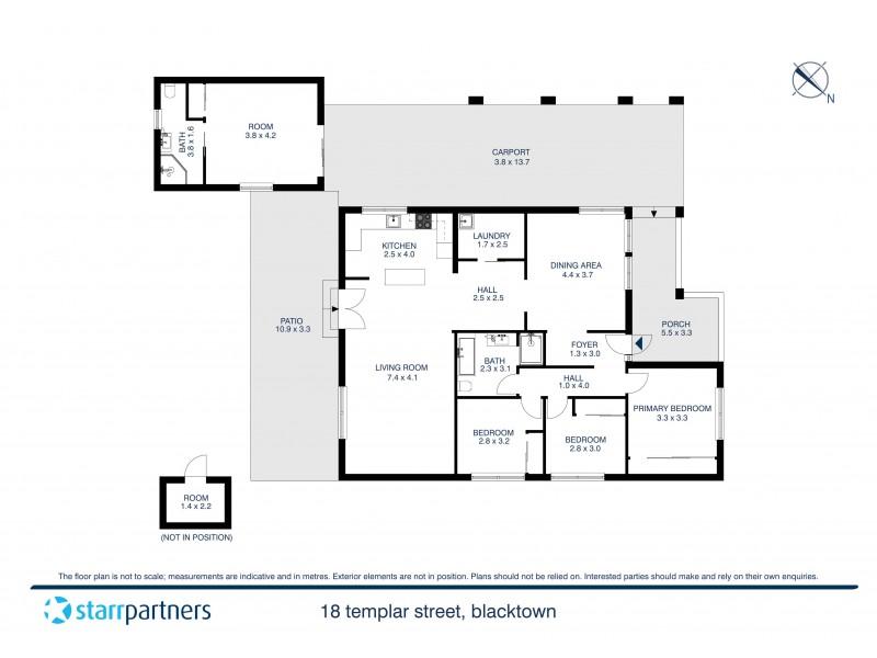 18 Templar Street, Blacktown NSW 2148 Floorplan