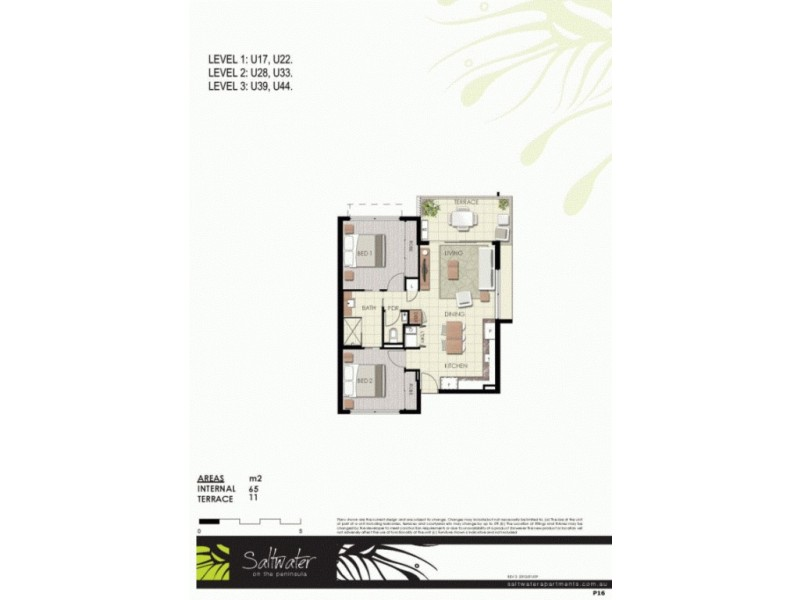 17/99 Birtinya Boulevard, Birtinya QLD 4575 Floorplan