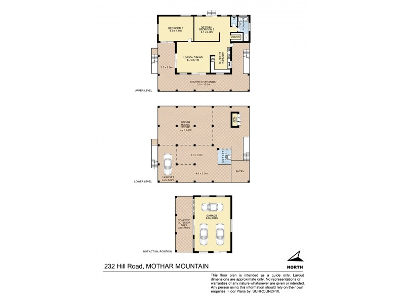 232 Hill Road, Mothar Mountain QLD 4570 Floorplan