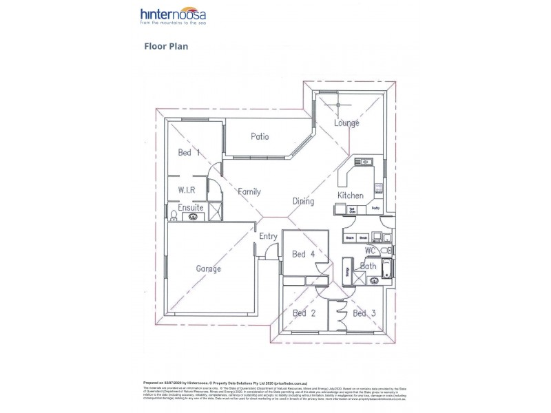 2/17 Olivine Lane, Cooroy QLD 4563 Floorplan