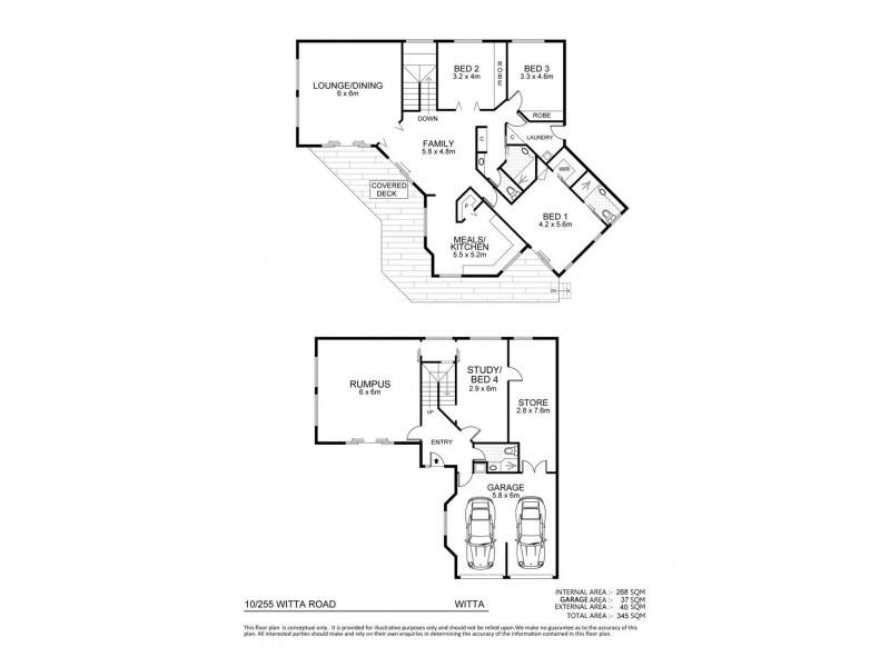 Witta QLD 4552 Floorplan