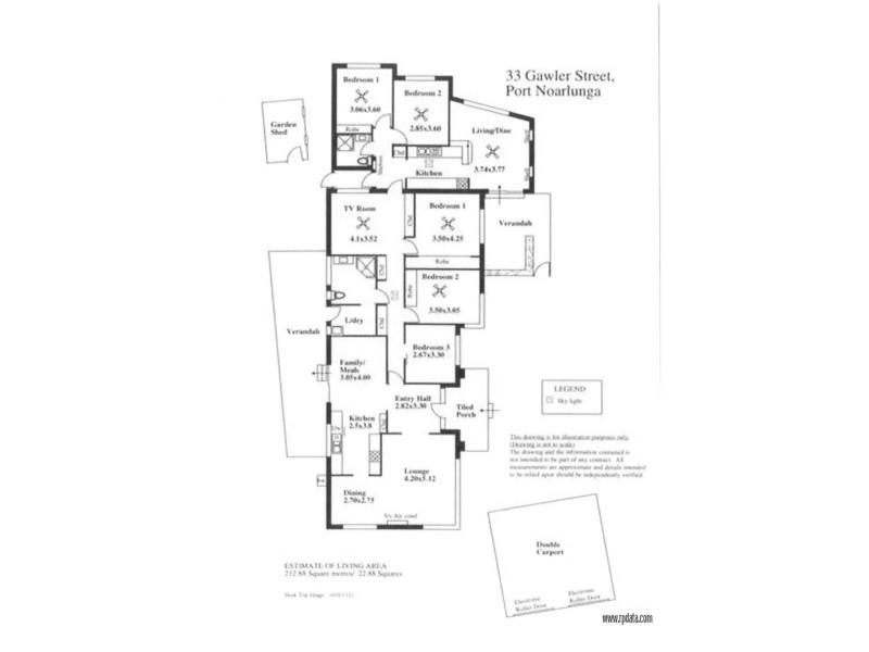 33 Gawler Street, Port Noarlunga SA 5167 Floorplan