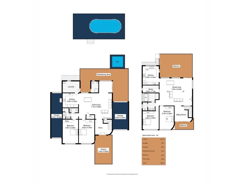 96 Second Avenue, Moana SA 5169 Floorplan