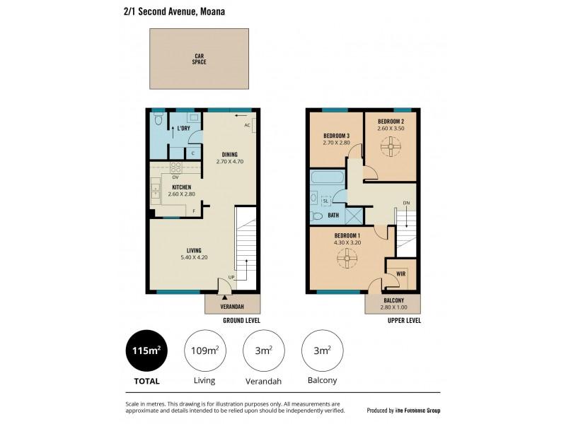 2/1 Second Avenue, Moana SA 5169 Floorplan