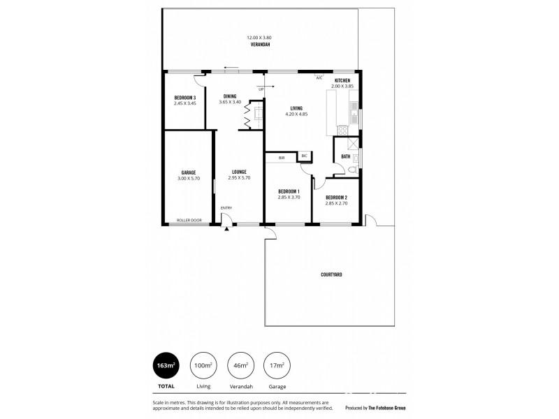 1b Haven Avenue, Seaford SA 5169 Floorplan