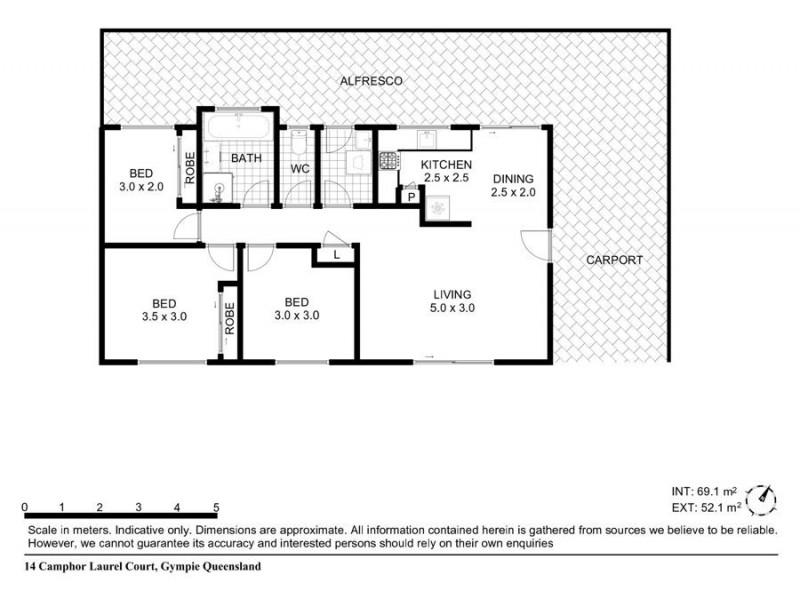 14 Camphor Laurel Court, Gympie QLD 4570 Floorplan