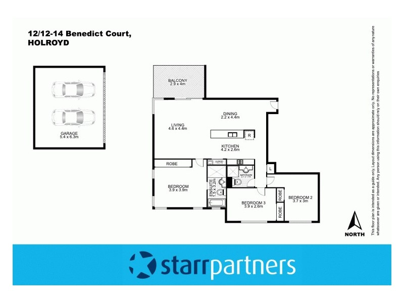12/12-14 Benedict Court, Holroyd NSW 2142 Floorplan