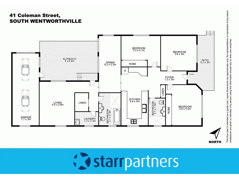 41 Coleman Street, South Wentworthville NSW 2145 Floorplan