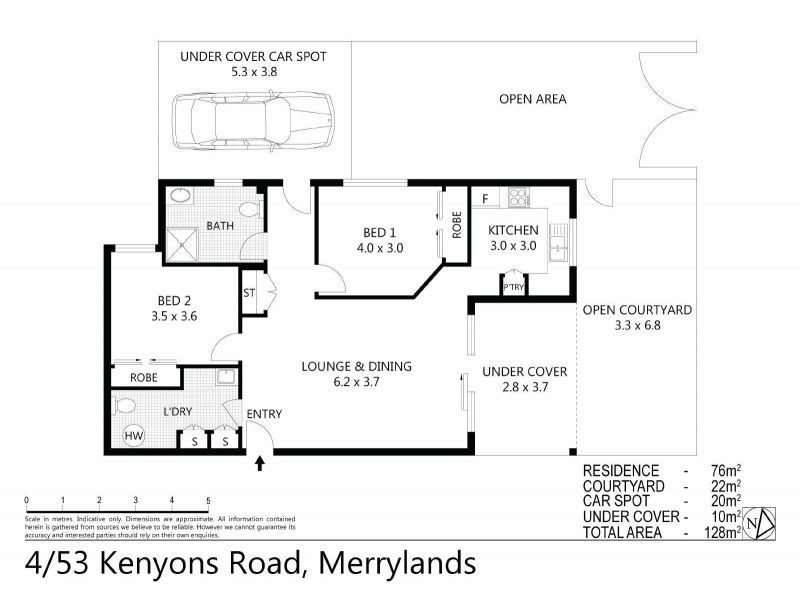 4/53 KENYONS ROAD, Merrylands NSW 2160