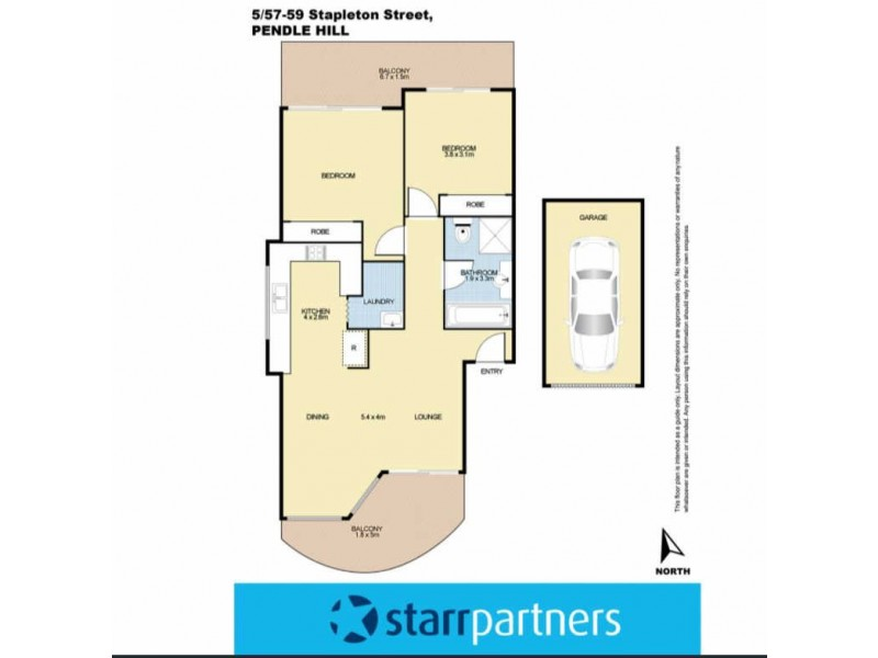 05/57-59 STAPLETON STREET, Pendle Hill NSW 2145 Floorplan