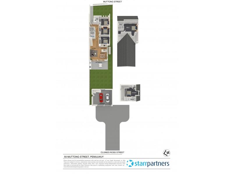 55 Muttong Street, Pemulwuy NSW 2145 Floorplan