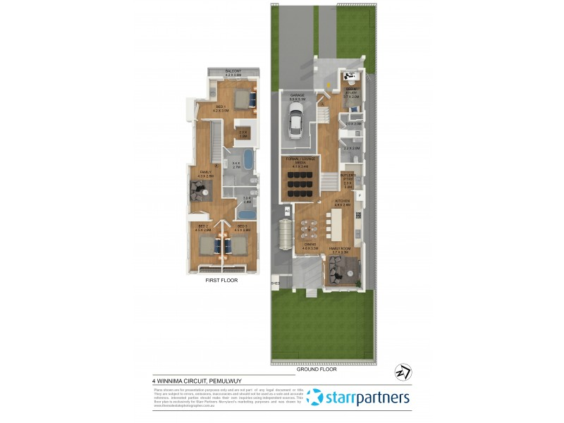 4 Winnima Circuit, Pemulwuy NSW 2145 Floorplan