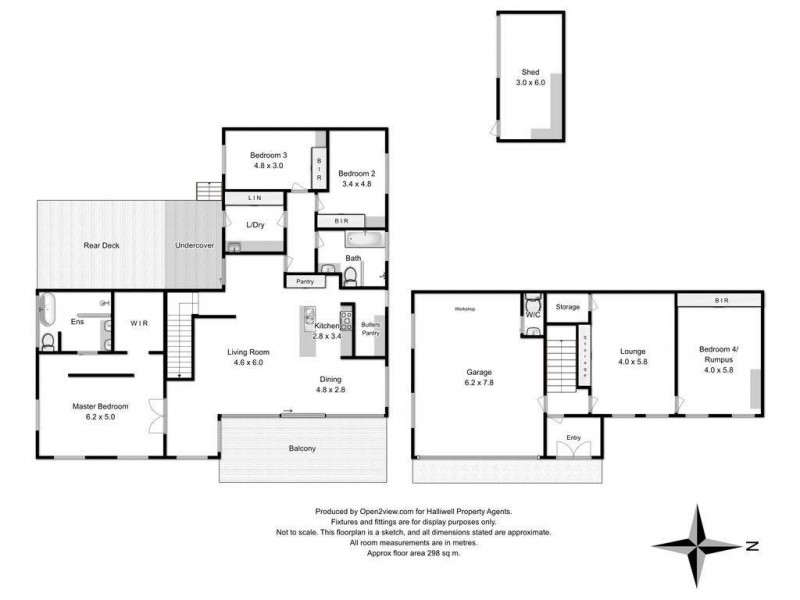 3a Linden Heights, Don TAS 7310 Floorplan